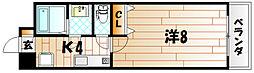 メシアクレソン[7階]の間取り