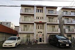 北海道札幌市白石区本郷通6丁目の賃貸マンションの外観
