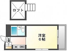 White草津[3階]の間取り