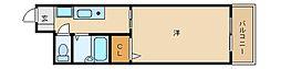カデンツァK[5階]の間取り