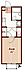 間取り,1K,面積21m2,賃料7.0万円,JR中央線 三鷹駅 徒歩10分,JR中央線 吉祥寺駅 徒歩17分,東京都武蔵野市御殿山2丁目