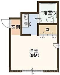 第2ファンタジービル[4階]の間取り