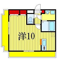 千葉県千葉市花見川区幕張本郷2丁目の賃貸マンションの間取り