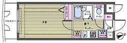 フェニックス新宿若松町[4階]の間取り