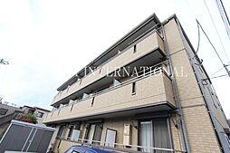 埼玉県草加市青柳3の賃貸アパートの外観