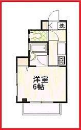 東京都北区神谷3丁目の賃貸マンションの間取り