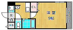 M'PLAZA津田駅前十一番館[2階]の間取り