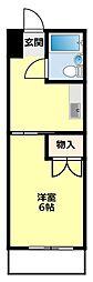 サンヨウマンション[301号室]の間取り