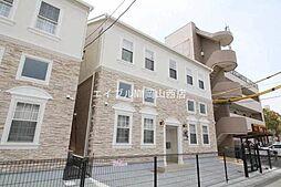 岡山県岡山市北区学南町2丁目の賃貸アパートの外観