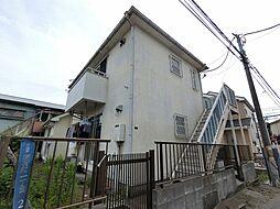 千葉県千葉市中央区稲荷町1丁目の賃貸アパートの外観