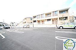 兵庫県神戸市西区伊川谷町潤和の賃貸アパートの外観