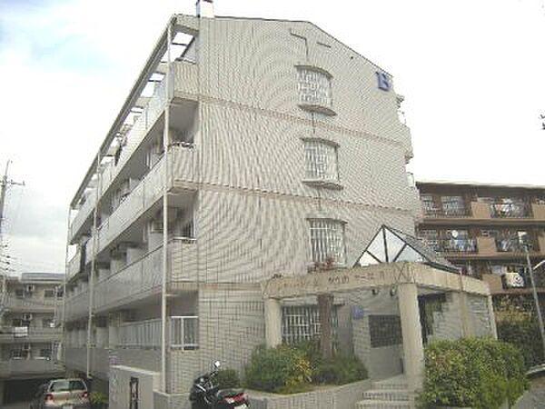 シティパレス東生駒P-3 B[1階]の外観