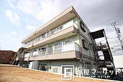 愛知県豊田市三軒町1丁目の賃貸マンションの外観
