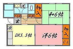 川北ビル(当社管理物件)[302号室号室]の間取り