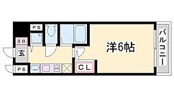 プレサンス神戸西スパークリング[6階]の間取り