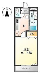ファインドリーム[2階]の間取り