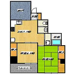 SAKUMA BLD. XIII[301号室]の間取り
