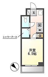N.S.ZEAL東別院[12階]の間取り