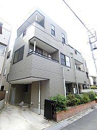 東京都北区志茂5の賃貸マンションの外観