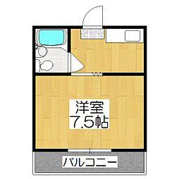 脇坂コーポ[4-2号室]の間取り