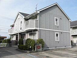 岐阜県恵那市長島町中野の賃貸アパートの外観