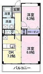 高見ノ里駅 5.8万円