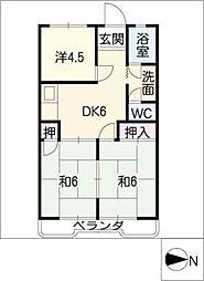 浅井ビル[3階]の間取り