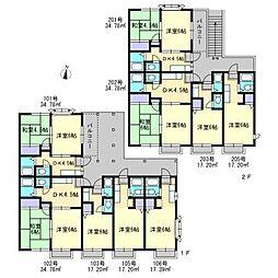 メゾンド七隈2[1階]の間取り