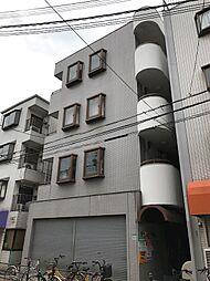大阪府大阪市住之江区西加賀屋4丁目の賃貸マンションの外観