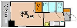エステムコート博多駅前2セグティス[11階]の間取り