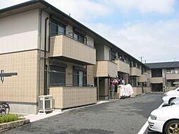大阪府東大阪市角田2丁目の賃貸アパートの外観