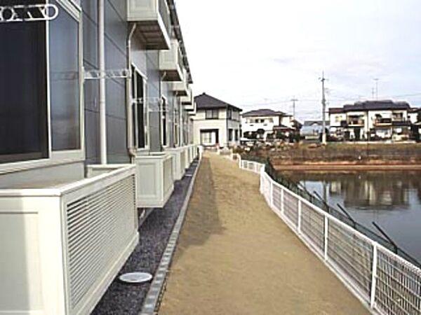 レオパレスエスポワールU 2階の賃貸【茨城県 / 稲敷郡阿見町】