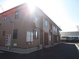 愛知県弥富市平島町五反割の賃貸アパートの外観