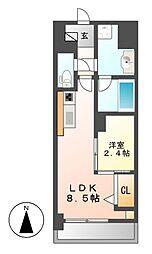 ポルタニグラ大須[3階]の間取り