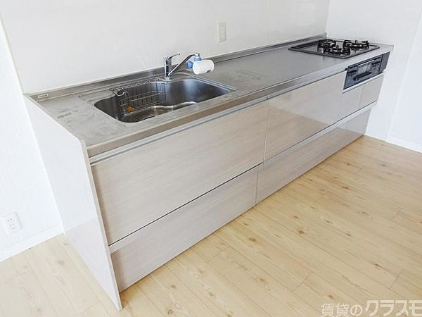 マンションサルナートの調理スペースも広いんです