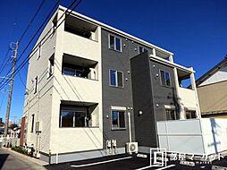 愛知県岡崎市美合町字五本松の賃貸アパートの外観