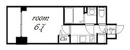 プレサンス金山デュアル[3階]の間取り