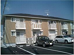 茨城県水戸市吉沢町の賃貸アパートの外観