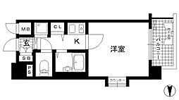 兵庫県神戸市中央区二宮町4丁目の賃貸マンションの間取り