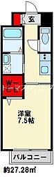 JR日豊本線 南小倉駅 徒歩15分の賃貸マンション 10階1Kの間取り
