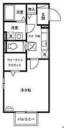 埼玉県さいたま市桜区田島3丁目の賃貸アパートの間取り