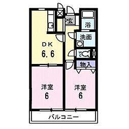 レジデンス21[205号室号室]の間取り