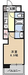 アクアプレイス京都洛南II[B602号室号室]の間取り