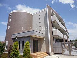 東京都三鷹市牟礼7丁目の賃貸マンションの外観