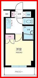 東京都墨田区石原2丁目の賃貸マンションの間取り
