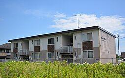 福岡県京都郡苅田町大字馬場の賃貸アパートの外観