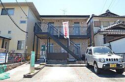 愛知県名古屋市中川区荒子1丁目の賃貸アパートの外観