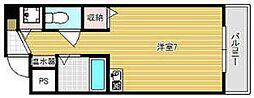 グランメール高井田 603[603号室]の間取り