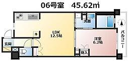 ザ大阪レジデンス備後町[8階]の間取り