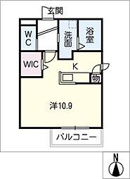 San Felice 新栄[2階]の間取り